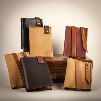 Ensemble de portefeuille porte carte simple