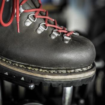 Chaussure N°3 détail couture norvégienne