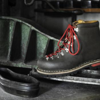 Chaussure N°3 sur presse